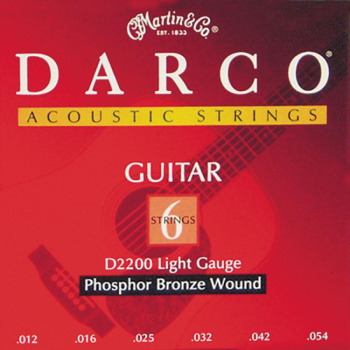 Darco 3 Sets of Darco D5100 80/20 Bronze Wound Acoustic Guitar Strings .012 - 054