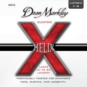 3 Sets of Dean Markley Helix Electric Guitar Strings Custom Light 9-46