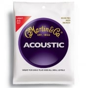 3 Sets of Martin M140 80/20 Acoustic Guitar Strings 12-54 Gauge Light - New!