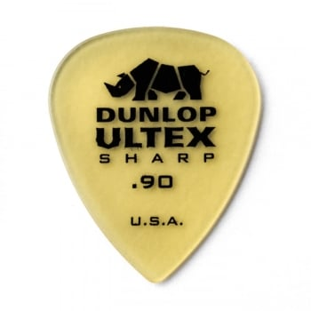 Dunlop 5 x Dunlop Ultex Sharp .90mm Guitar Plectrums / Picks