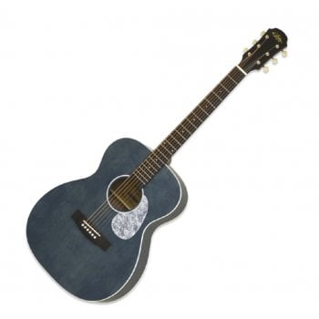 Aria ARIA-101UP - Urban Player Series Acoustic Guitar - Stained Blue