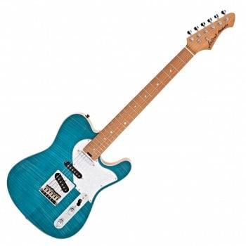 Aria 615 Mk.2 Nashville Telecaster Style - Turquoise Blue