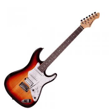 Aria 714-STD-3TS Electric Guitar - Three Tone Sunburst