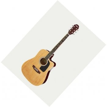 Aria AWN-15CE-N Prodigy Series Electro-Acoustic  Guitar with Cutaway - Natural