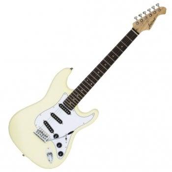 Aria STG 003SPL VW Electric Guitar - Vintage White