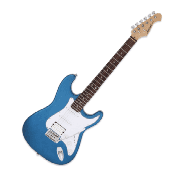 Aria STG-004 MBL Electric Guitar, Metallic Blue