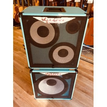 Ashdown RM-210T + RM-115T EVO II Super Lightweight Bass Cabinet FULL STACK - Blue
