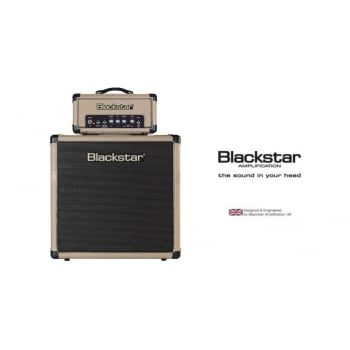Blackstar HT1RH Head & HT112 1x12 Cabinet Limited Edition Bronco Tan Finish