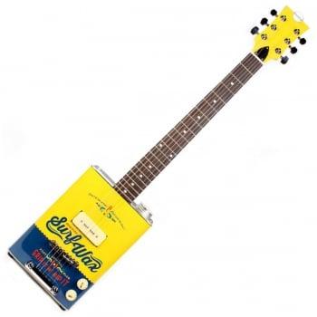 Bohemian Oil Can Electric Guitar P90 Surf Wax