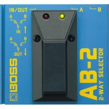 Boss AB-2 2 Way Selecter Pedal for Guitar