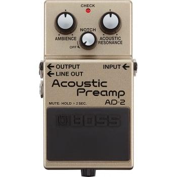 Boss Acoustic Pre-Amp AD-2 Acoustic Guitar Pedal