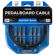 Boss BCK-12 Pedalboard Cable Kit, 12 Connectors, 12ft Cable