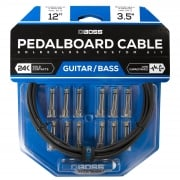 Boss BCK-24 Solderless Pedalboard Cable Kit - 24 Connectors, 24ft cable