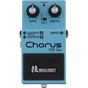 Boss CE-2W Waza Craft Chorus Guitar Effect Pedal