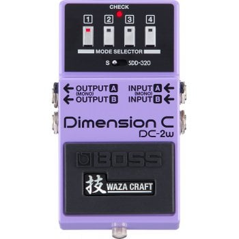 Boss DC-2W Dimension C Waza Craft Chorus Effect Pedal Limited Edition