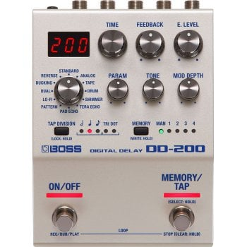 Boss DD-200 Progammable Digital Delay Pedal