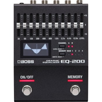 Boss EQ-200 Programmable Graphic Equalizer