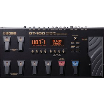 Boss GT-100 COSM Amp Effects Processor Version 2.0