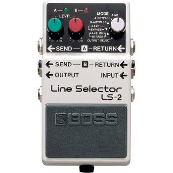 Boss LS-2 Line Selector Guitar/Bass Blender/Mixer Pedal
