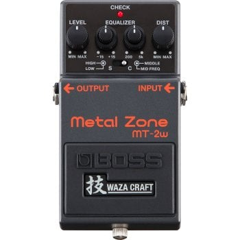 Boss MT-2W Metal Zone Waza Craft Distortion Effect Pedal