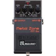 Boss MT-2W Metal Zone Waza Craft Distortion Effect Pedal