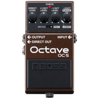 Boss OC-5 Octaver Guitar Pedal with Vintage and Polyphonic Modes