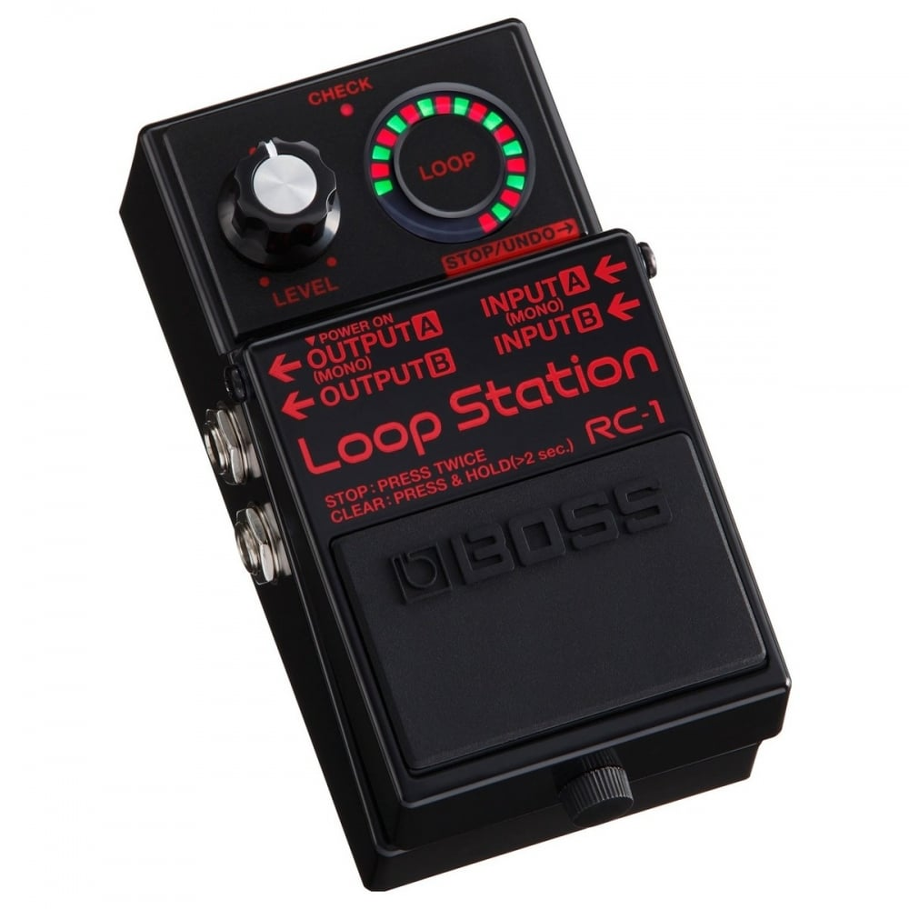 boss boss rc 1 loop station 1 million special edition looper black boss from stompbox ltd uk. Black Bedroom Furniture Sets. Home Design Ideas