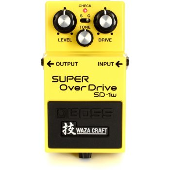 Boss SD-1w Super Overdrive (Waza Craft)