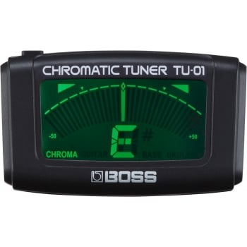 Boss TU-01 Clip On Guitar Headstock Tuner