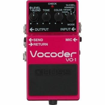 Boss VO-1 Vocoder Electric Guitar Effects Pedal
