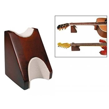 Boston BNS-100 Mahogany Guitar Neck Support for Guitar, Bass, Banjo, Ukulele and more