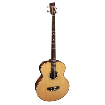 "Brunswick Acoustic Bass Guitar ""TBJBA"" Natural"