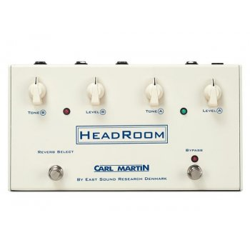 Carl Martin Headroom Spring Reverb Pedal