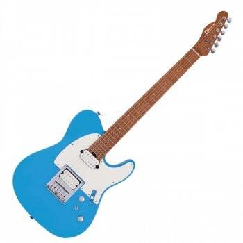 Charvel Pro-Mod So-Cal Style 2 24 HH HT CM, Caramelized Maple Fingerboard, Robin's Egg Blue
