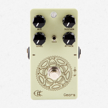 CKK Gears Vintage Compressor Guitar Effects