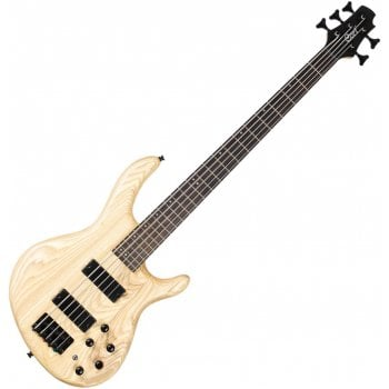 Cort Action Series Bass DLX V AS OPN with Markbass MB-1 EQ - Natural