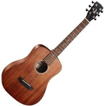 Cort AD Mini M Mahogany OP Travel 3/4 Size Guitar