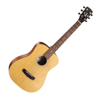 Cort AD Mini OP 3/4 Acoustic Guitar, Open Pore