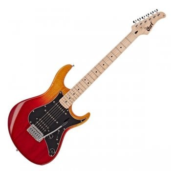 Cort G200DX-JSS Deluxe Electric Guitar, Java Sunset
