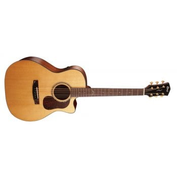 Cort Gold A6 Auditorium Cutaway NAT Electro-Acoustic Guitar