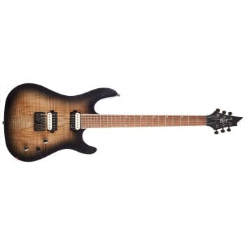 Cort KX300 OPRB Electric Guitar - Open Pore Raw Burst
