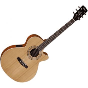 Cort SFX-ME OP Cutaway Electro-Acoustic Guitar, Open Pore