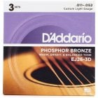 D'Addario EJ26-3D Custom Light 11-52 Acoustic Guitar Strings