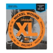 D'addario EXL110-7 7 string Set 10 - 59