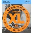 D'Addario EXL110 Regular Light Gauge Electric Guitar Strings 10-46
