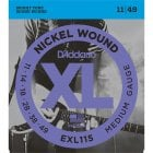 D'addario EXL115 Medium Gauge Electric Guitar Strings 11-49