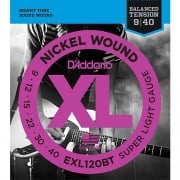 D'addario EXL120BT Balanced Tension Guitar Strings 9-40