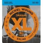 D'Addario EXL140 Light Top/Regular Bottom Electric Guitar Strings 10-52