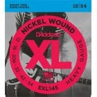 D'addario EXL145 Heavy Gauge Electric Guitar Strings 12-54