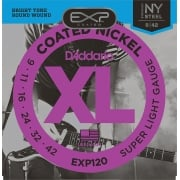 D'addario EXP120 Coated Electric Guitar String 9-42